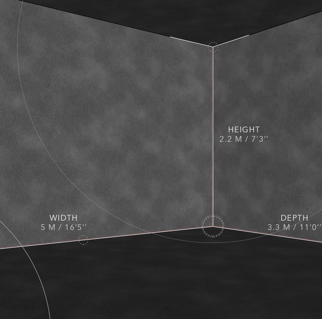 Shooting Simulator ST-2 Dimensions-PREMIUM