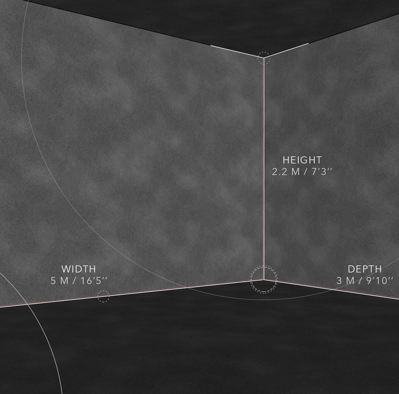 Simulateur ST-2 de tir Dimensions-PREMIUM PRO
