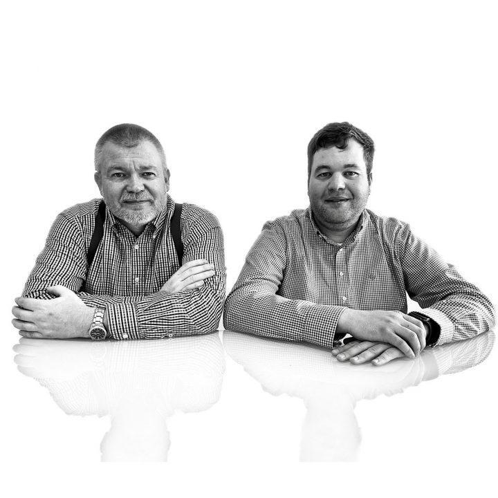 Dr. Martin Schmid és Wilhelm Dahm
